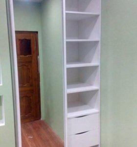 Кухни, шкафы-купе, установка окон и обшивка балкон