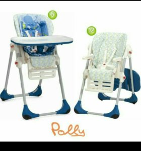 Детский стул chicco polly 2 in 1