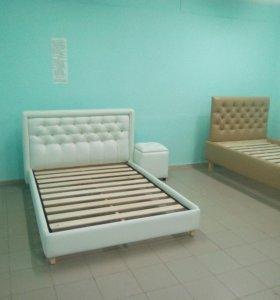 кровати с использованием каретной стяжки