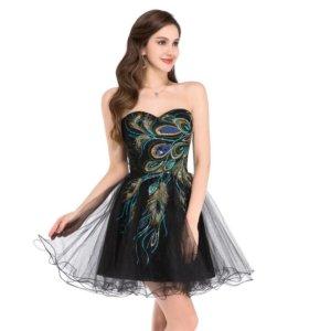 НОВОЕ коктейльное платье р.42-44.
