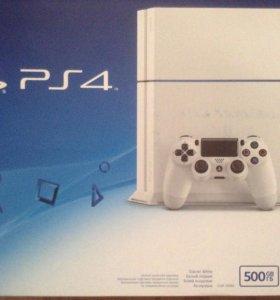 PS4 500g 2 джойстика + 10 игр