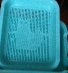 Туалет для кошки.