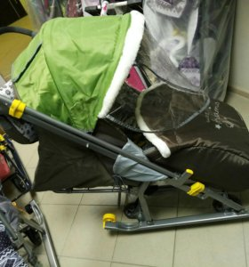 Новые Санки коляска ника nashi detki 2017