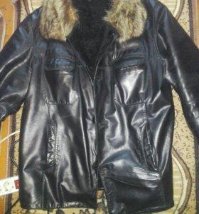куртка кожаная р50-52
