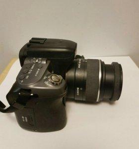 Зеркальный фотоаппарат Sony Alpha DSLR-A550 Kit