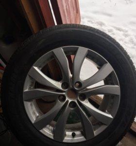 Колесо 225/60/18 хонда, мазда