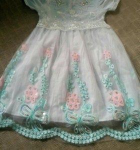 детское платье на 6-7 лет