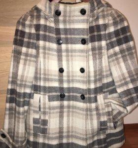 Пальто полупальто Zara XS