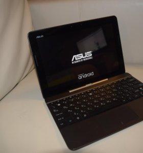 Планшет-ноутбук Asus Transformer k014+Наушники+4Гб