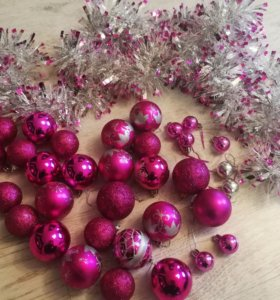 Ёлочные шарики,украшение