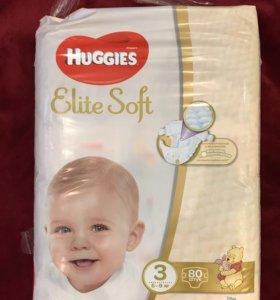 Подгузники Huggies Elite Soft 3 (5-9 кг)