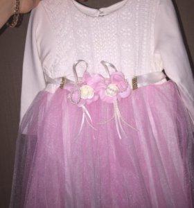 Платье от 6-9 месяцев