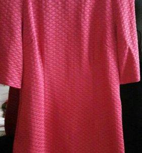 Платье буклированный трикотаж с подкладом