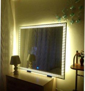 Зеркала с подсветкой LED для ванной, прихожей