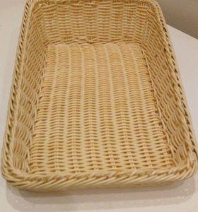 Корзинки пластиковая для хлеба/выпечки (13 шт)
