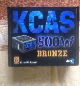 БП Aerocool KCAS 500W (80+ Bronze)