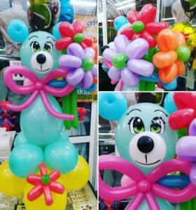 Детские фигурки из шаров