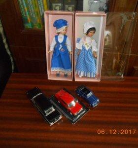 Коллекционные куклы и машинки