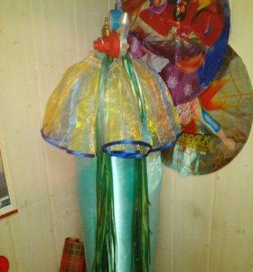Балон с редуктором для гелия