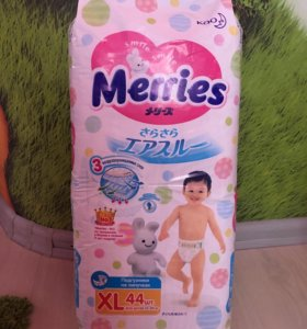 Памперсы Merries Xl