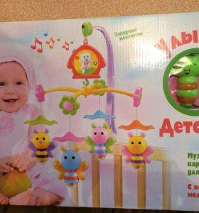 Музыкальная карусель для малышей