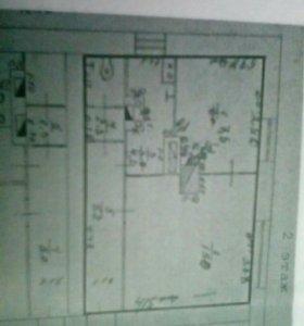 Квартира, 2 комнаты, 34.3 м²