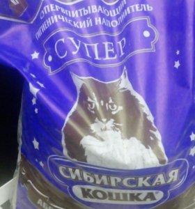 Наполнитель сибирская кошка супер 20 л
