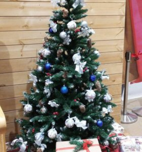 Махровые искусственные елки на Новый Год