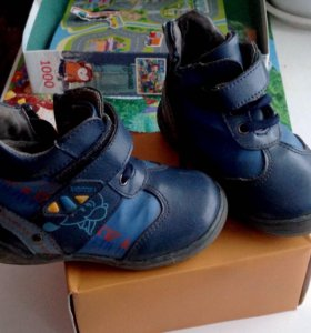 Ботинки,кожа