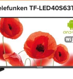 Телевизор 102см smart wi-fi