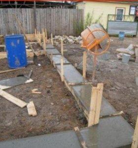бетон   с  противоморозкой