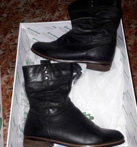Демисезонные натуральные ботинки Вестфалика