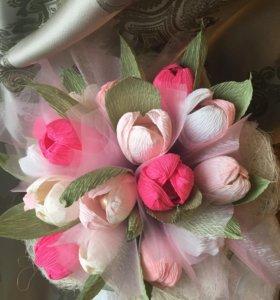 Букет тюльпанов в наличии