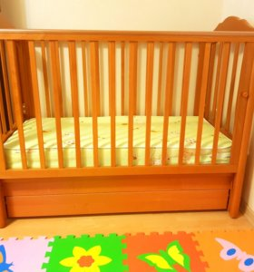 Детская кроватка Гайдылян Анастасия+кокосовый матр