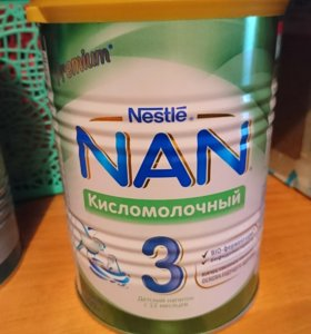 Смесь NAN 3 кисломолочный