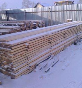 пиломатериал обрезной 6 м- 1 сорт, дрова