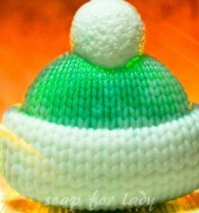 Мыльная шапочка