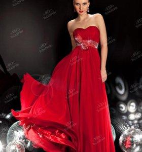 Вечернее красное платье To be Bride