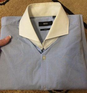 Мужская рубашка от BOSS оригинальная