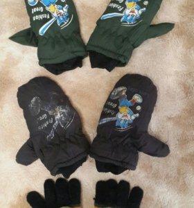 деткие перчатки