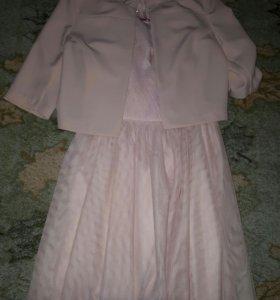 Zarina платье + жакет