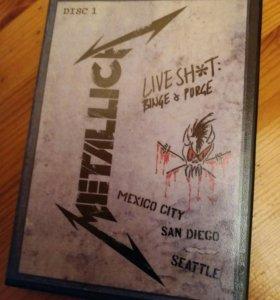 Metallica. Live Shit: Binge & Purge 1991 (3DVD)