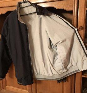 В отличном состоянии, куртка, двухсторонняя