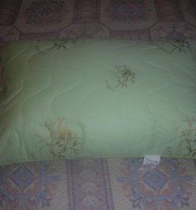 подушки (бамбук, верблюжья шерсть)