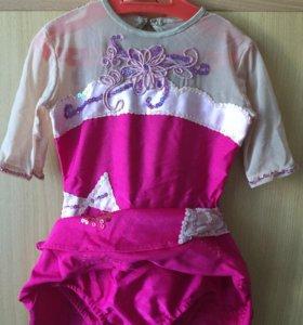 Гимнастический костюм на 5-7 лет