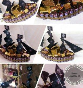 """Пиратский корабль """"Черная жемчужина"""""""