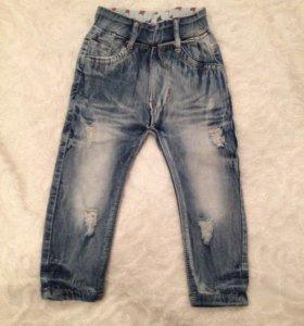 Детские джинс.штаны