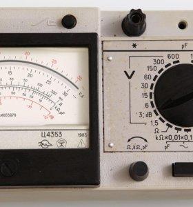 мультиметр ц4353