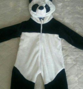 Новогодний костюм панда,прокат