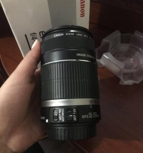 Объектив canon абсолютно Новый !!!! Efs55-250mm